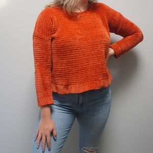 Pink Rose coral sweater